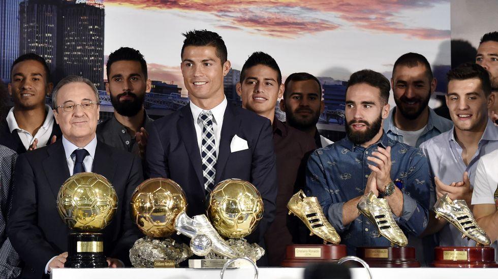 Florentino Pérez regaña a Cristiano Ronaldo