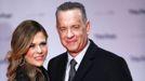 Tom Hanks y su mujer, Rita Wilson, en una imagen de archivo