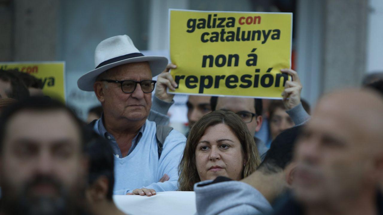 Antón Sánchez se estrenó en este Debate sobre el Estado de la Autonomía como portavoz del Grupo Común da Esquerda