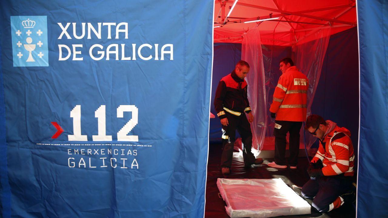 Colas para vacunarse contra el covid en Pontevedra.El detenido llevaba encima 16 pequeñas bolsas de plástico con heroína en su interior y setenta euros en billetes fraccionados