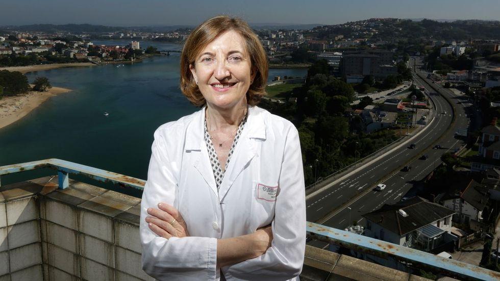 Marisa Crespo, cardióloga en el Chuac: «Es necesario que el paciente sepa que puede ayudar a su propio corazón»