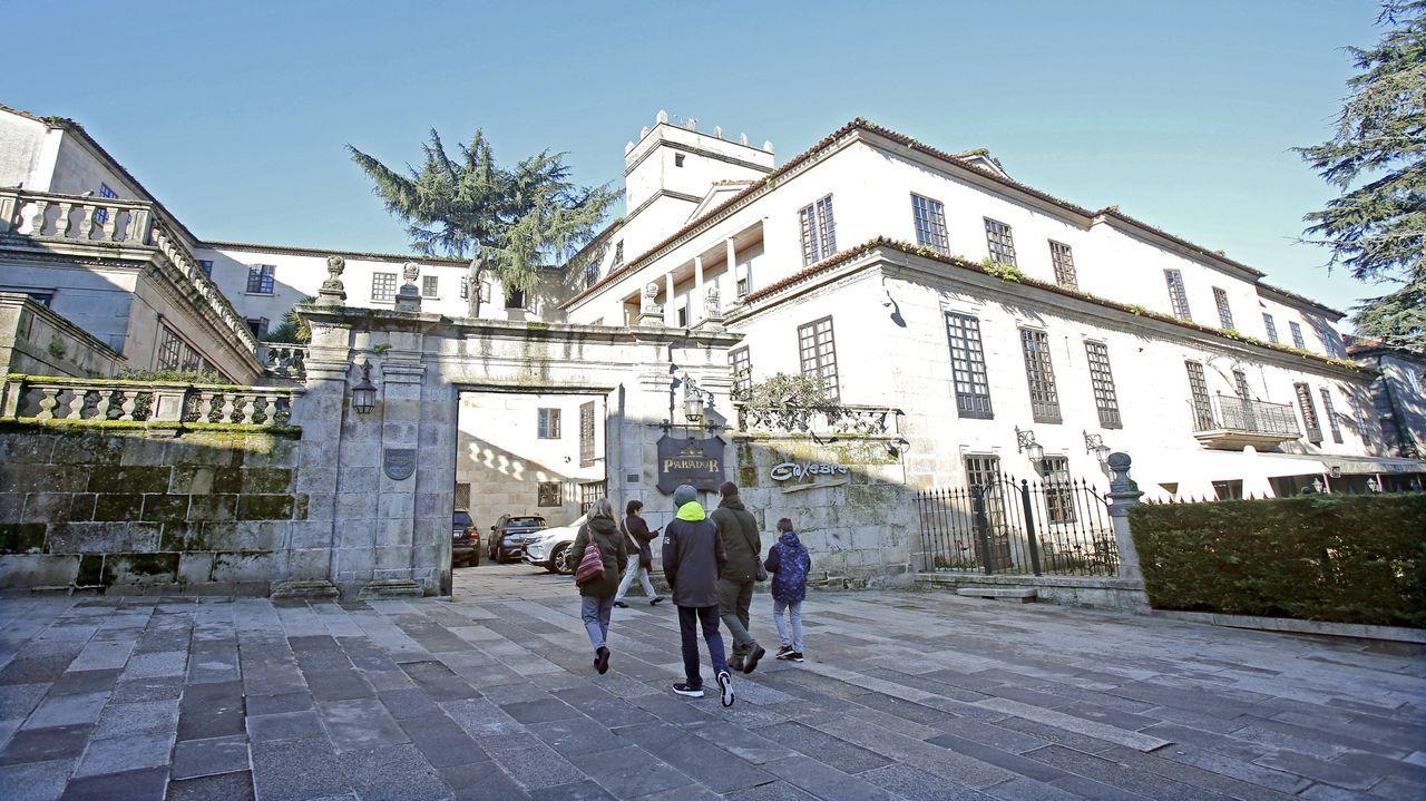 El parador de Pontevedra permanece abierto, al igual que el de Cambados