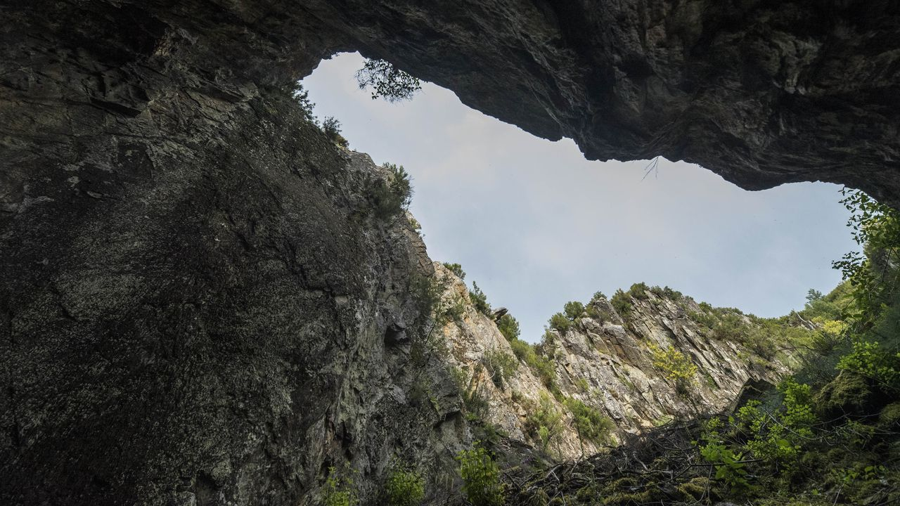 Por la ruta de las antiguas minas de O Covallón