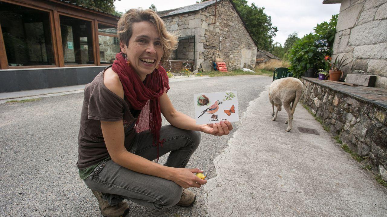 Así é Mariana Roura, panadeira e artista.Imagen de la A6 en zonas de reciente reasfaltado