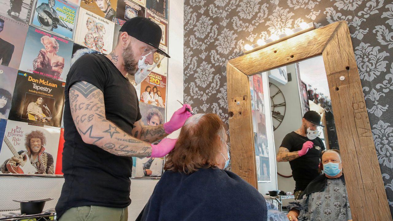 En Noruega han reabierto las peluquerías esta mañana