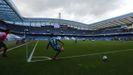 Imagen del estadio de Riazor, donde se disputará la final del eTeresa Herrera, durante el partido del pasado domingo