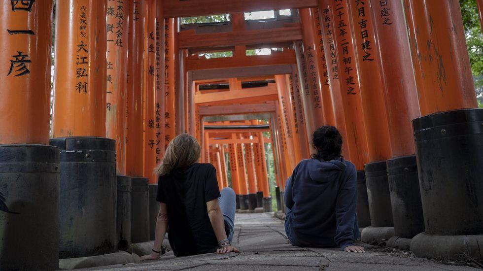 Tenemos la sensación de estar en un paraíso , dicen estas viajeras sobre Japón