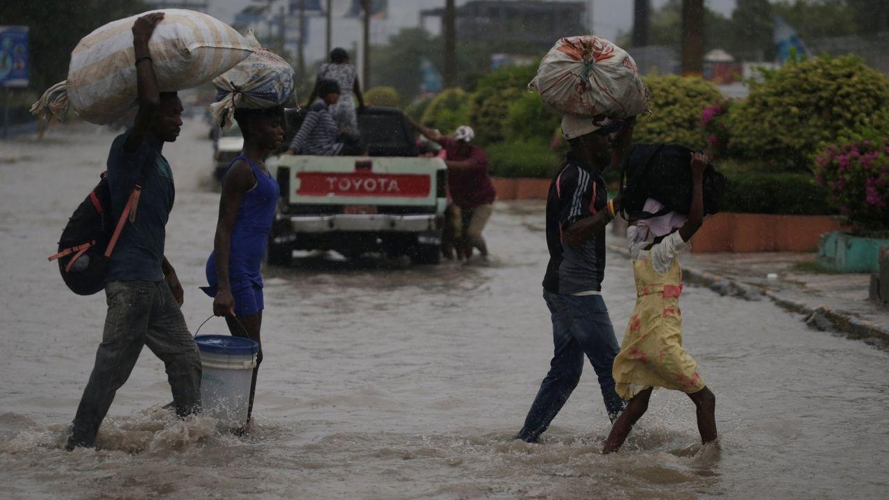 La tormenta tropical Laura causó graves inundaciones y destrozos en Haití, donde dejó una veintena de fallecidos