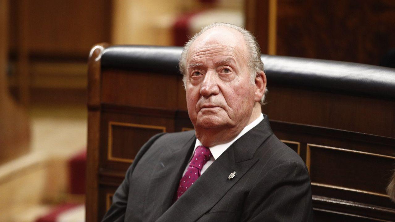 Imagen del rey Juan Carlos de enero del 2019