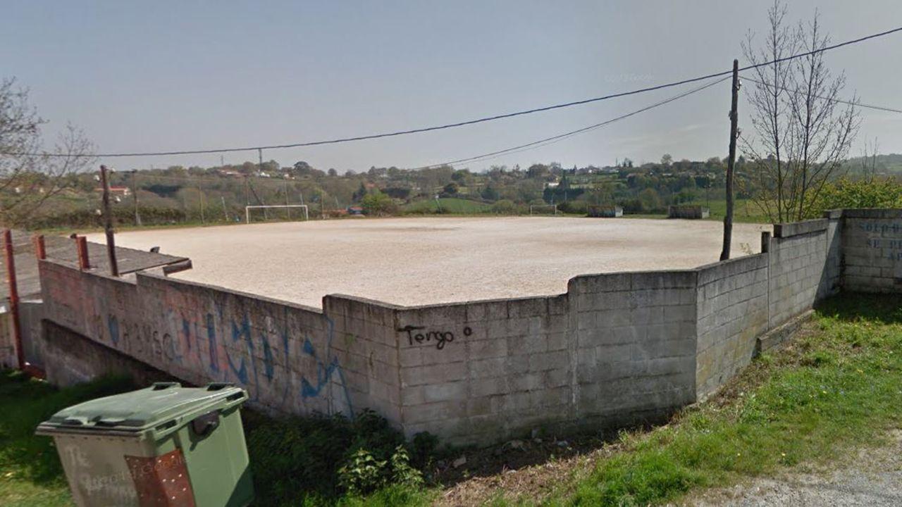 Cimavilla.Campo de fútbol del Grisú