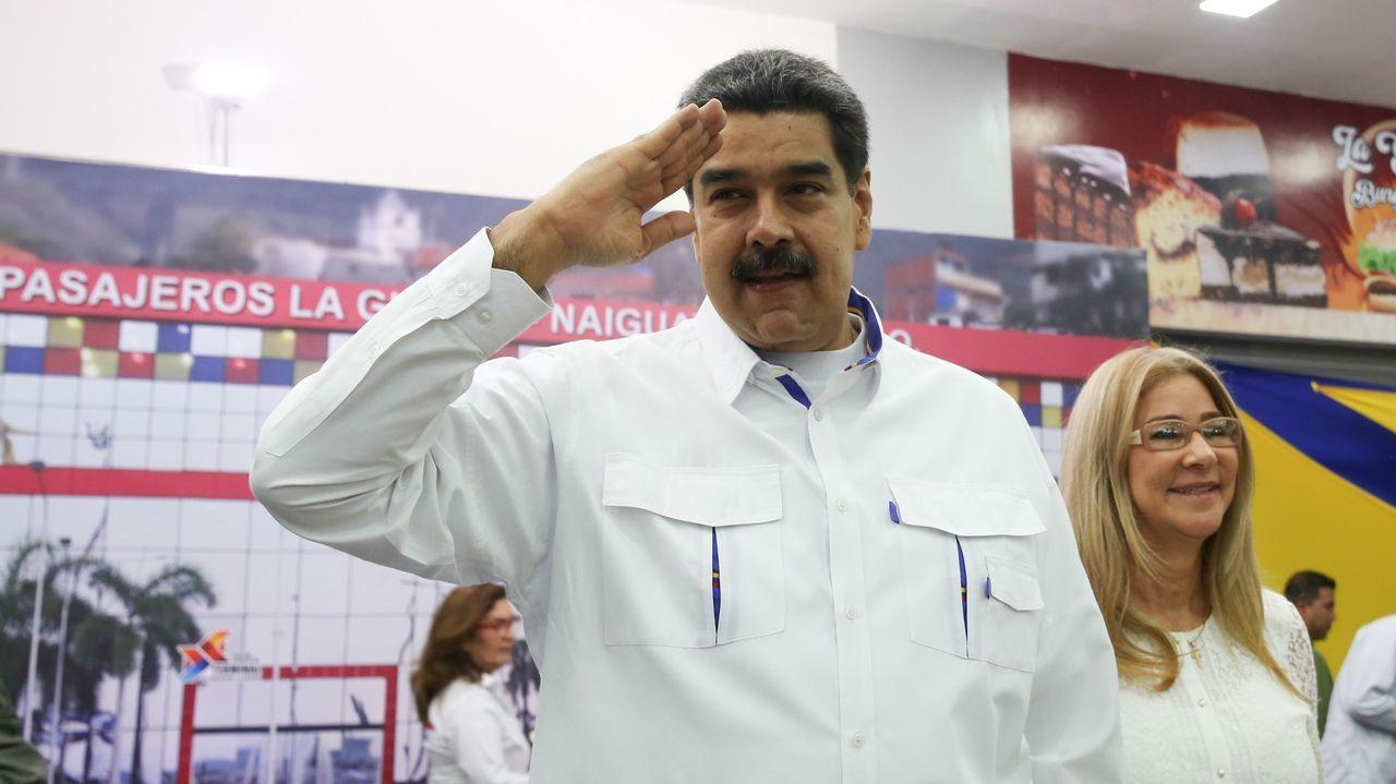 Maduro, en un acto de gobierno, en La Guaira