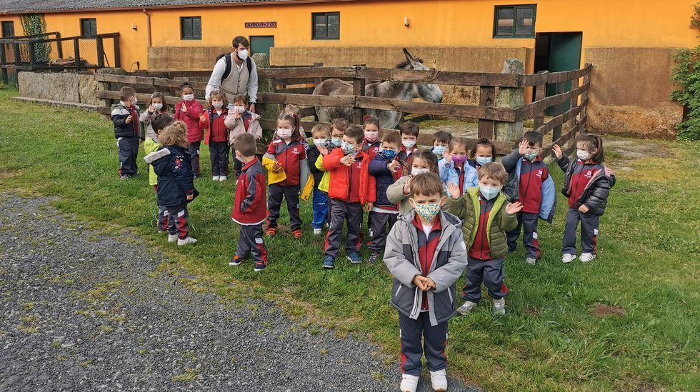 Excursión de alumnos del colegio Divina Pastora