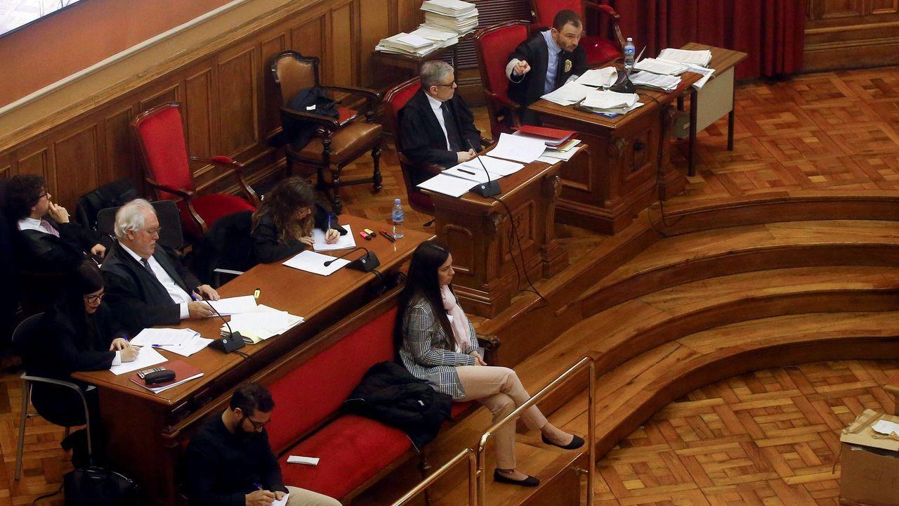 El juicio por el llamado «crimen de la Guardia Urbana»  encara su recta final en la Audiencia de Barcelona