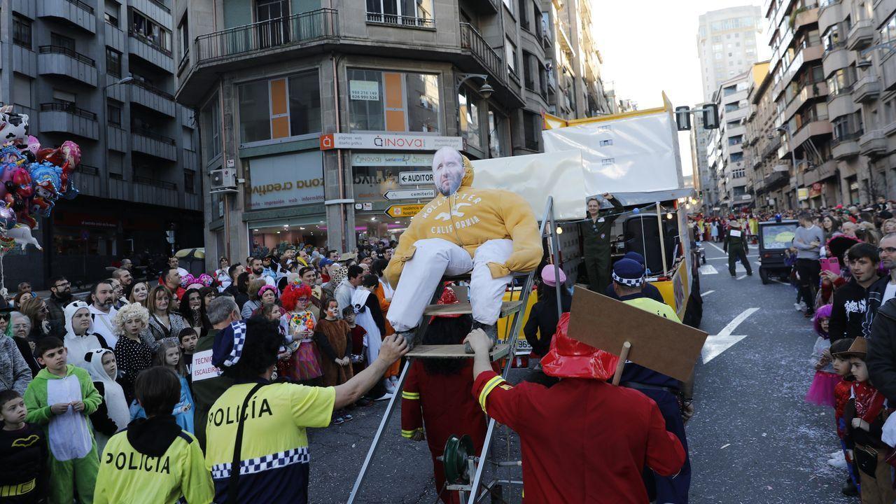 Desfile de entroido en Ourense