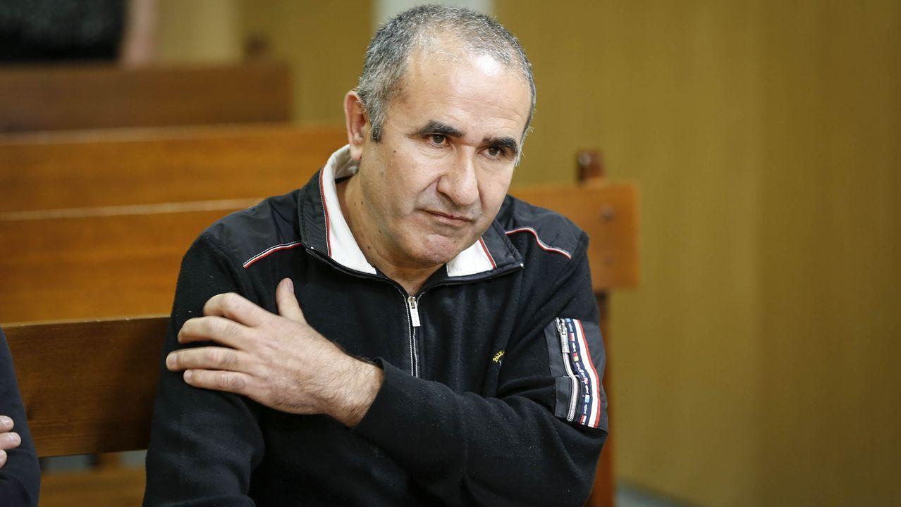 Costas, en un juicio en Ourense