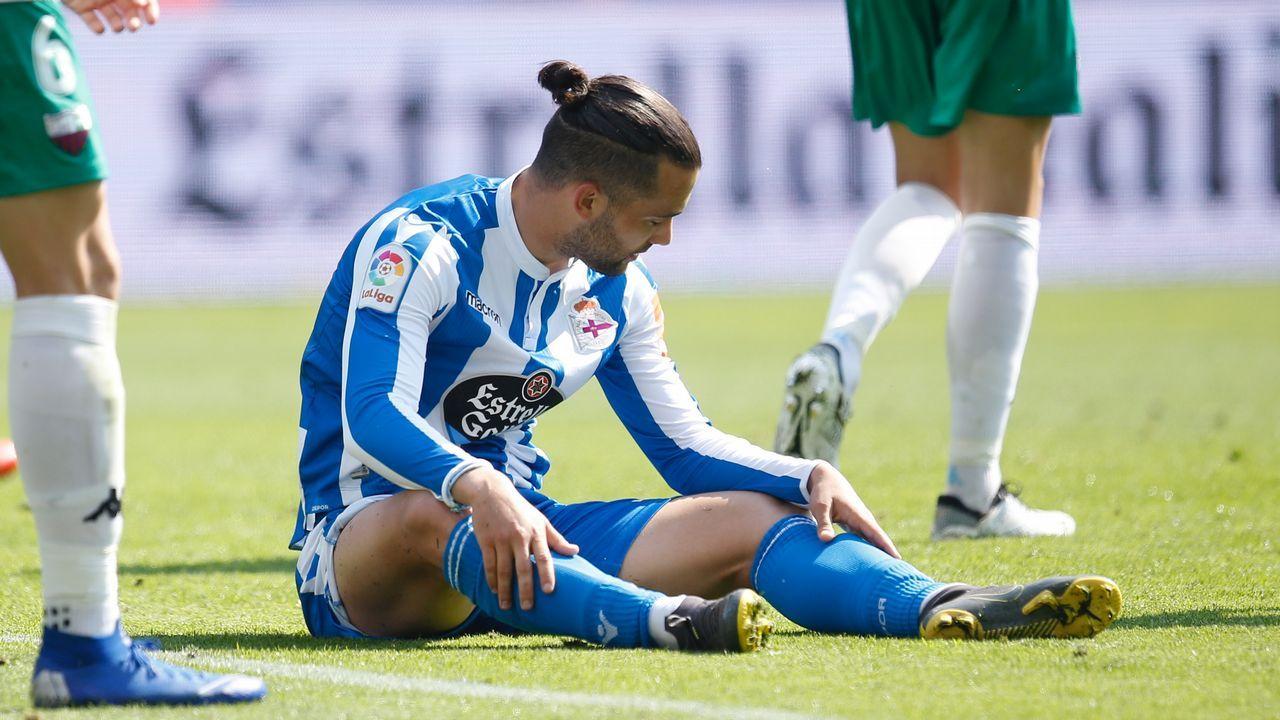 Las mejores imágenes del Deportivo - Extremadura