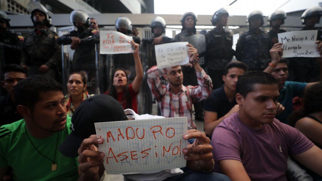 Protesatas por lo muerte del concejal venezolano