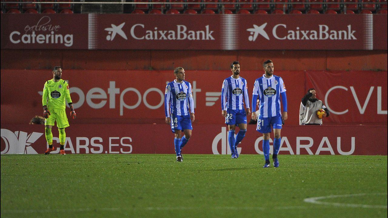 Almeria Alcorcon Juegos del Mediterraneo.Gerard Valentín entrenando con el Deportivo