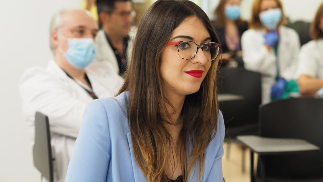 La monumental obra de Christo.Ana Lorenzo Vizcaya, médica internista en el CHUO