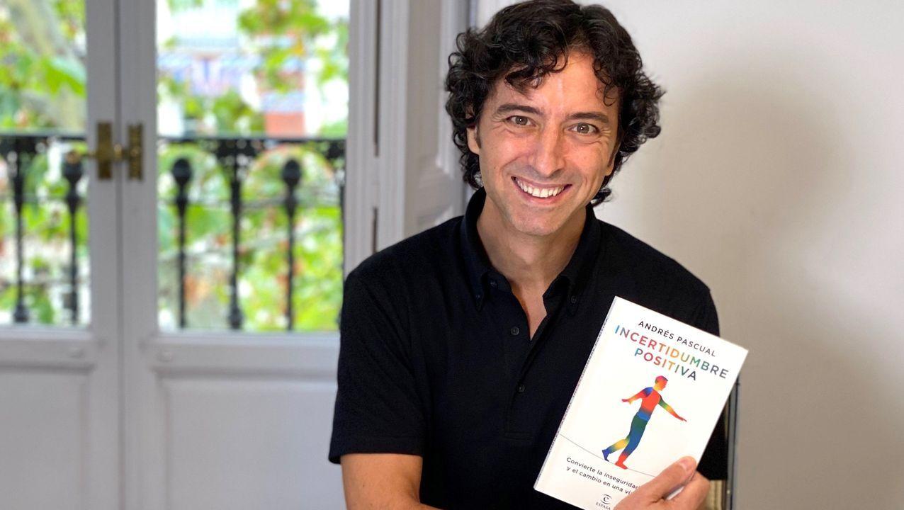 Andrés Pascual, autor de «Incertidumbre positiva»