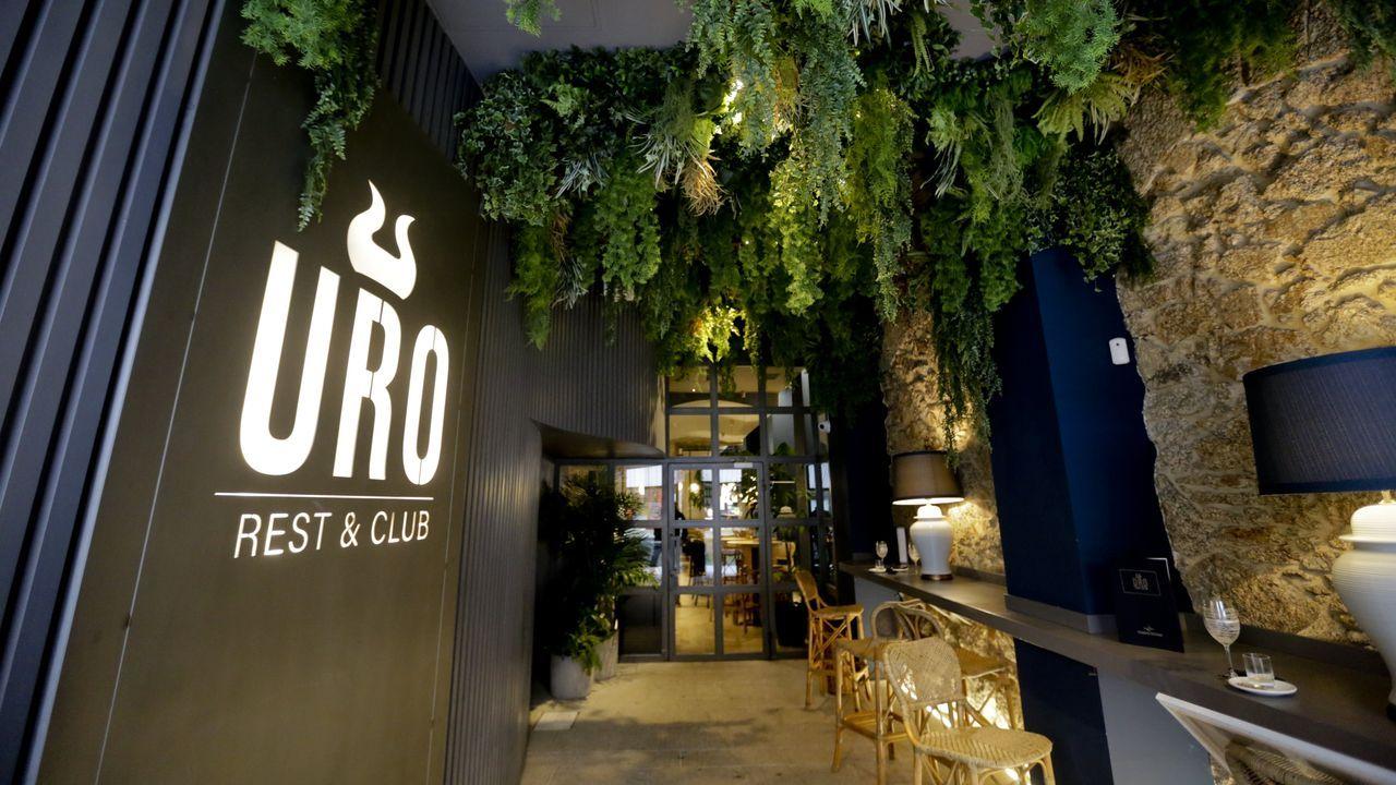 Raymond Peña es el jefe de cocina del Uro Rest & Club.
