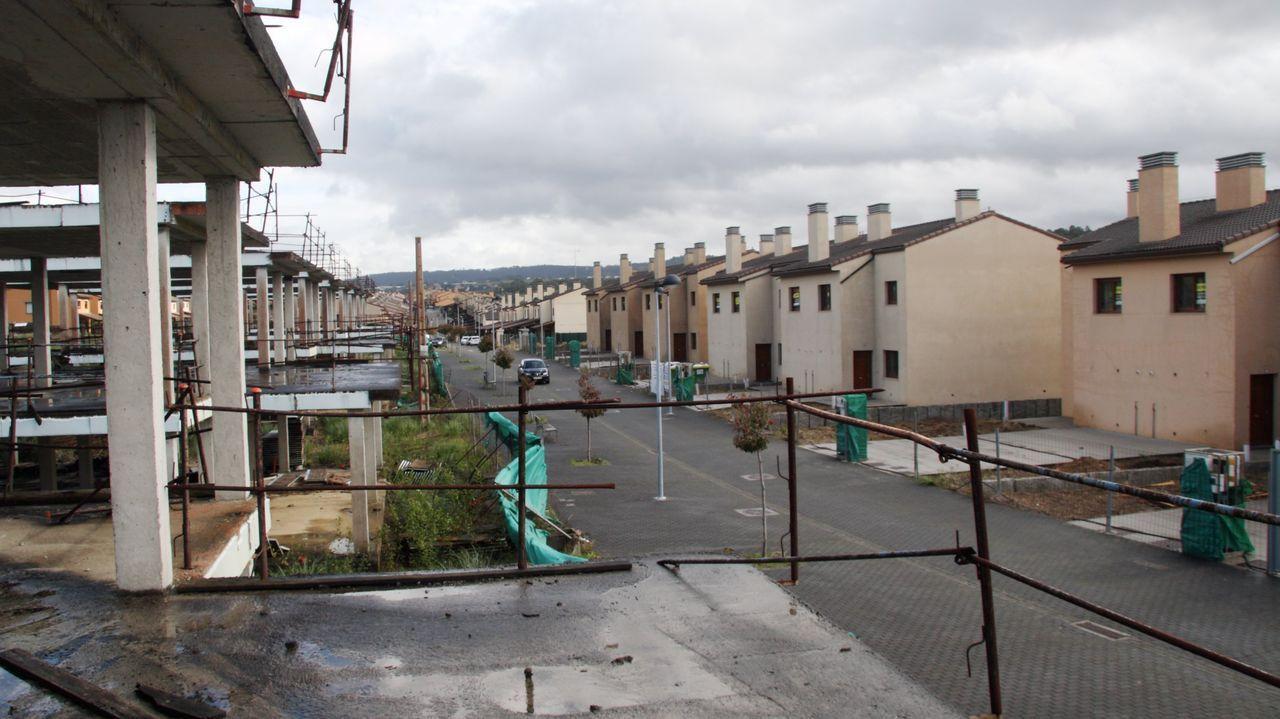 Imagen de la urbanización Costa Miño, la zona que más crece del municipio