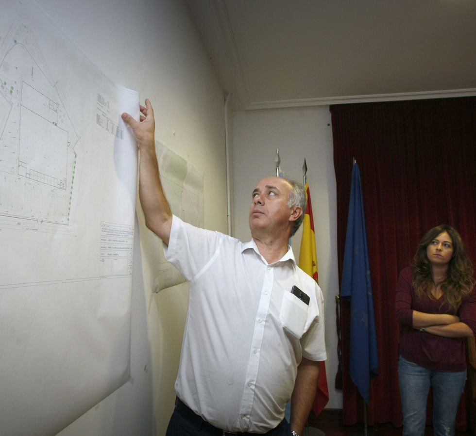 Durán explicó ayer sus argumentos ante los planos.