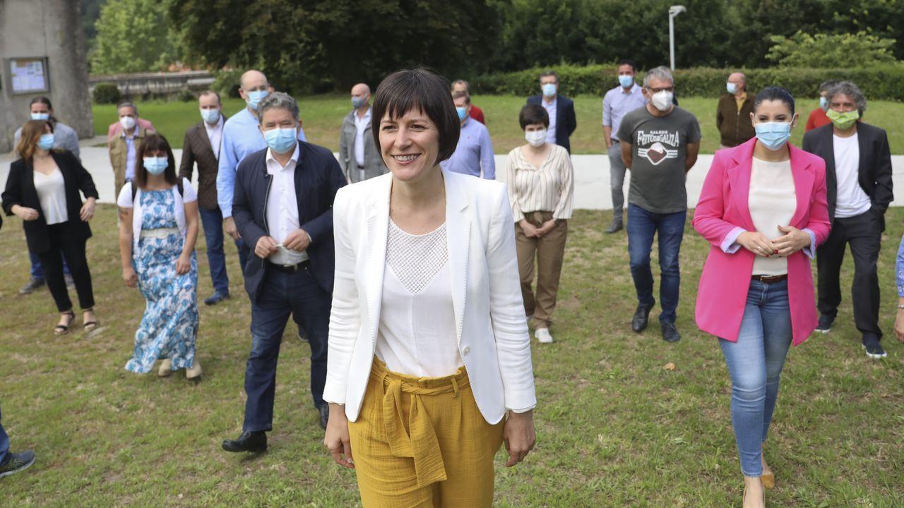 Así se votará en Galicia.Acto de precampaña del BNG en Xinzo de Limia