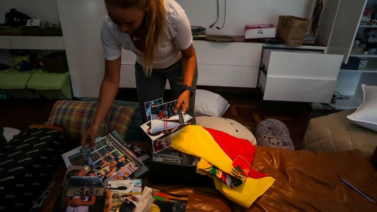 Lilian Tintori, esposa de Leopoldo López, recorre su casa