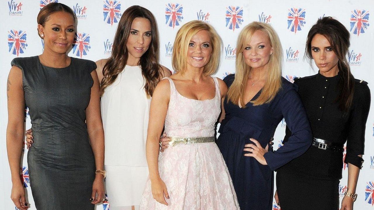 De izquierda a derecha, Mel B, Mel C, Geri Halliwell, Emma Bunton y Victoria Beckham