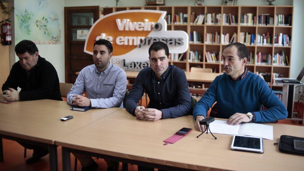 Manifestación de trabajadores de Vulcanohasta la sede de la Xunta.Audiencia Provincial de Oviedo