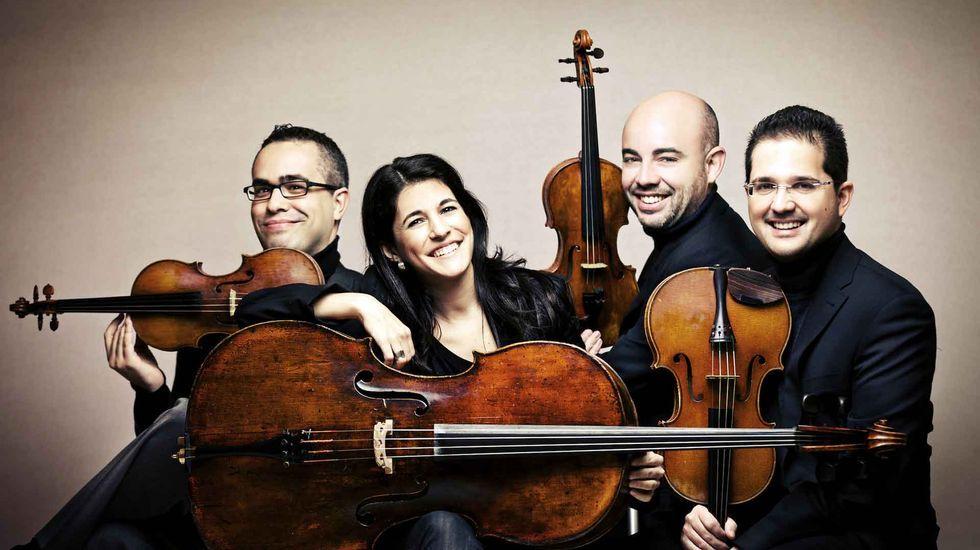 Aitor Hevia, Cibrán Sierra, Josep Puchades y Helena Poggio actuarán este sábado en el Círculo de las Artes, con un repertorio centrado en L.v. Beethoven.