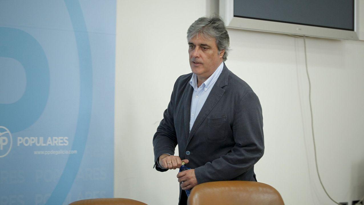 Feijoo, en la rueda de prensa posterior al Consello de la Xunta