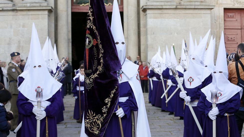 Procesión del Buen Jesús, el lunes, en Lugo