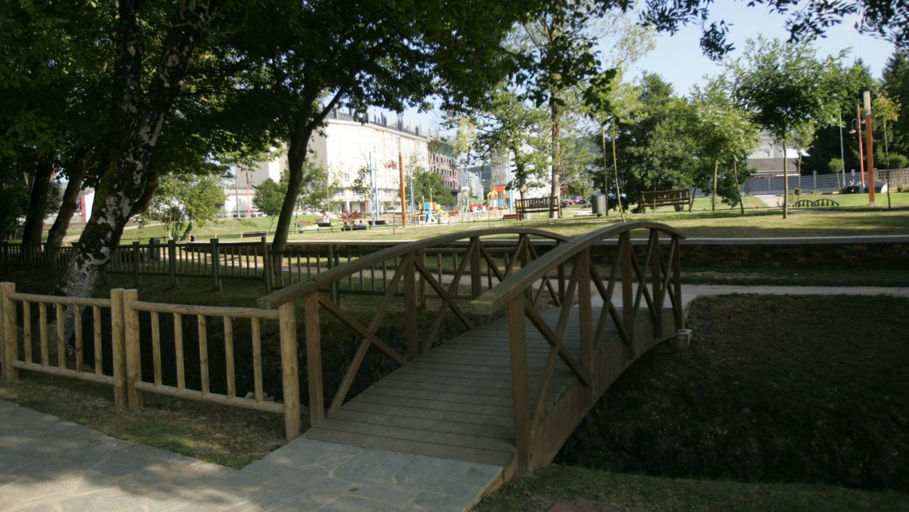 Foto de archivo del parque de Meira