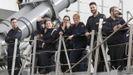 Regreso de la fragata Cristóbal Colón a Ferrol tras cinco meses con la OTAN