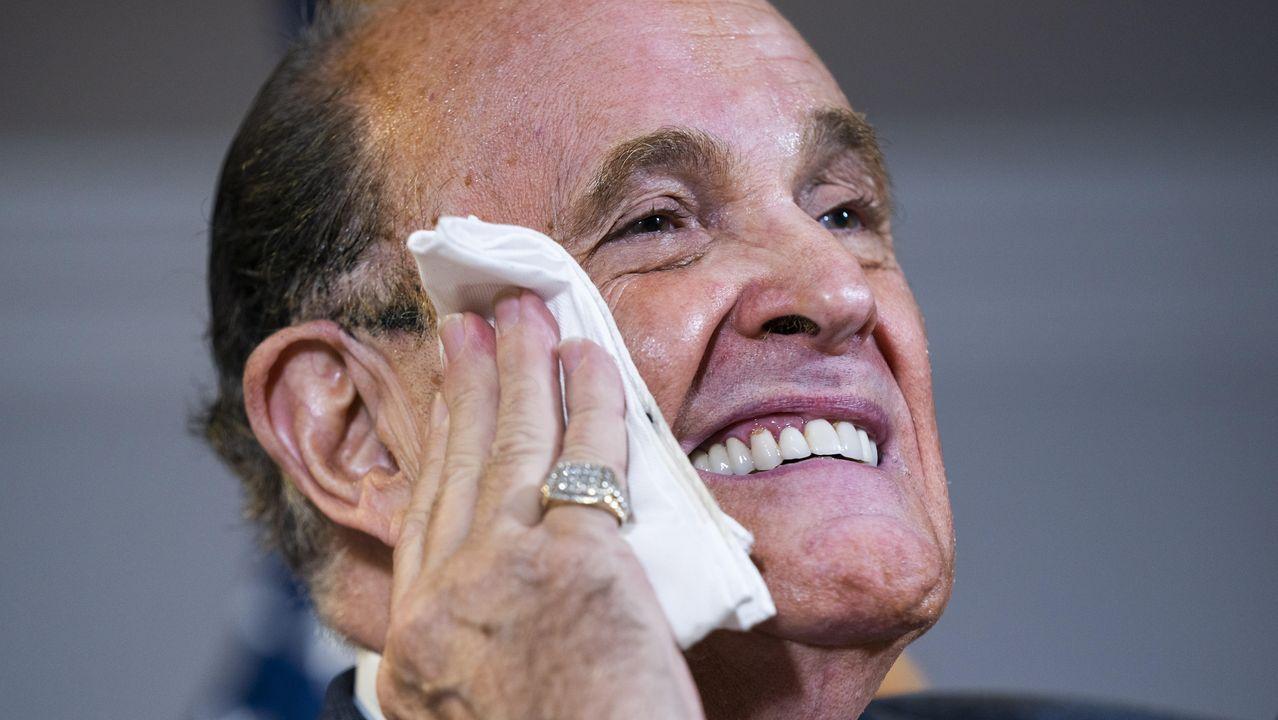 El abogado de Trump y exalcalde, Rudy Giuliani