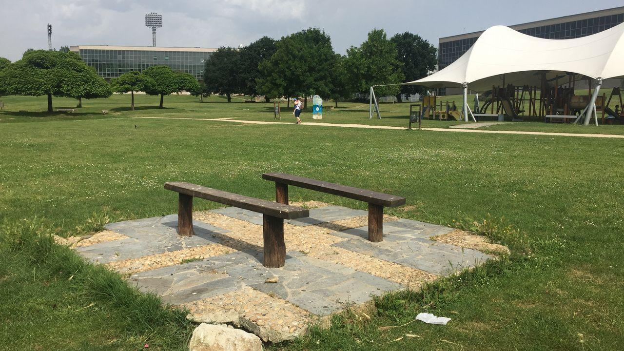 Mala conservación del área recreativa del Miño