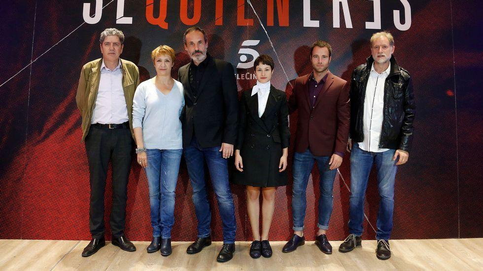 Ellas se dieron el primer «sí quiero».Coixet posa en la alfombra roja de la 69.ª Berlinale con Natalia de Molina y Greta Fernández, protagonistas de «Elisa y Marcela»