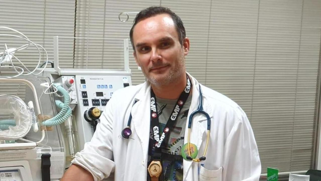 Luis Ocampo, pediatra en el comarcal de Valdeorras desde noviembre del 2015