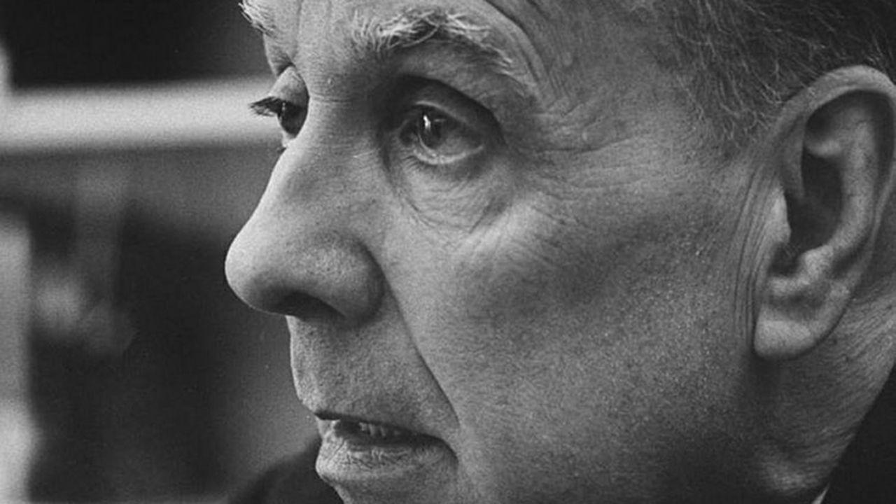 Jorge Luis Borges.Dos jóvenes en la biblioteca, Oviedo