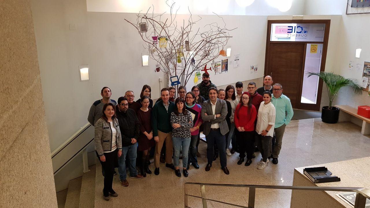 Imagen de una edición anterior de la Lanzadera de Empleo de Ourense
