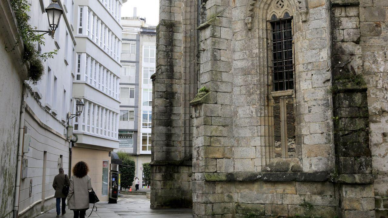 Algunas propiedades de la iglesia en Galicia.Las iglesias (en la imagen, la de Outeiro de Rei) no entran en las indagaciones del Concello