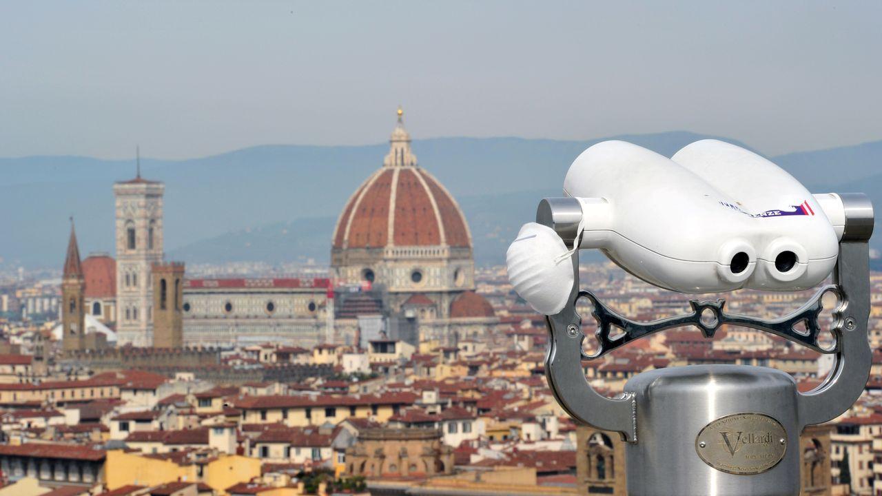 Mirador sobre la ciudad de Florencia