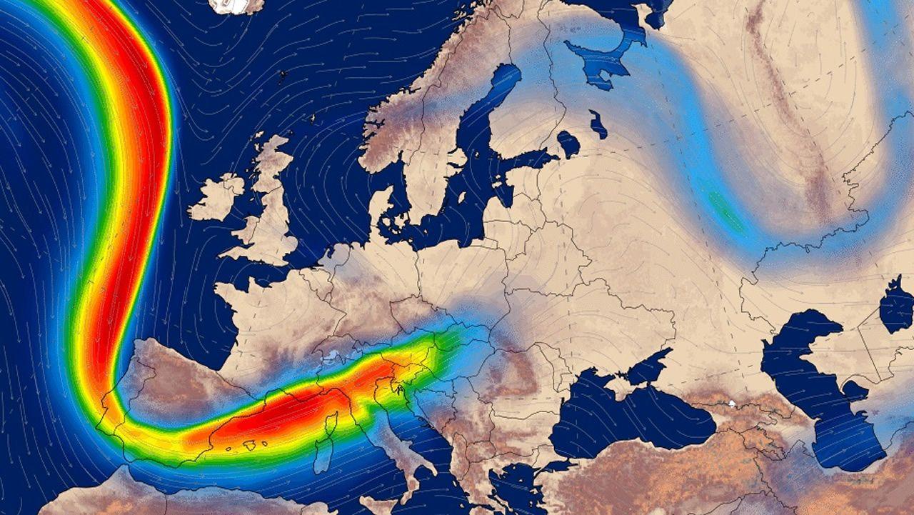 La meteorología da un giro de 180 grados en Galicia.HAVALINA