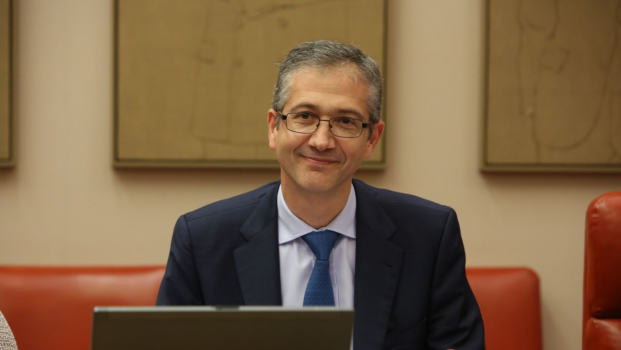 El Gobernador del Banco de España, Hernández de Cos, comparecía este miércoles en la Comisión de Economía del Congreso