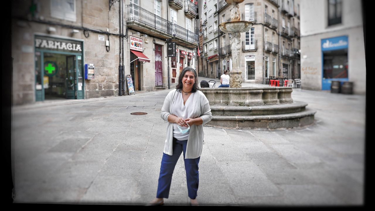 «El parque da un poco de pena, porque está sucio».María José, Che, Fernández, médico de familia