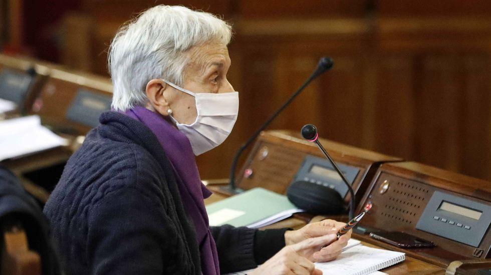 Carmen Suárez, en la Junta