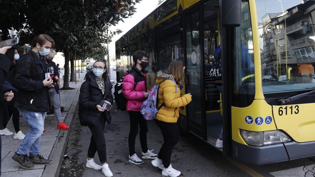 Autobús en Ourense