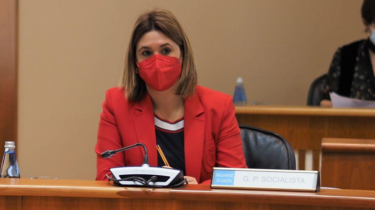 La diputada mariñana Patricia Otero intervendrá hoy en sesión parlamentaria